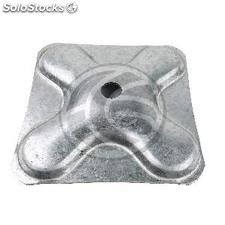 Accessory truss spigot of 50x3 mm square base 140x140mm (XT86)