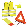 Accident Set Safety , Yellow - Neon