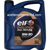Aceite coche elf evolution full tech fe 5W30 5L