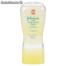 Aceite Johnson´s Baby Gel Camomila 200 Ml.