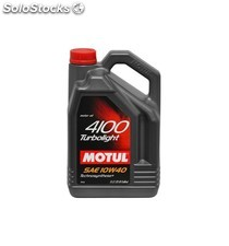 aceite motul 4100 turbolight 10w40