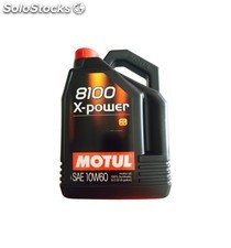 aceite motul 8100 x-power 10w60