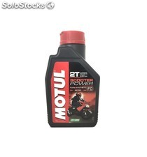 aceite motul scooter power 2t, 1 l