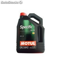 aceite motul specific cng/lpg 5w40