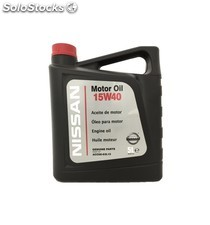 aceite nissan motor oil 15w40