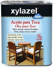 Aceite Para Teca Al Agua Color Miel 750ml Xylazel 1761703