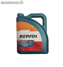 aceite repsol elite evolution long life 5w30