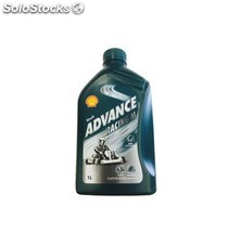 aceite shell advance racing m, 1 l