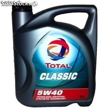 Aceite Total Classic 5w40, 5 Litros