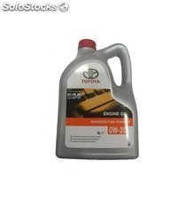 aceite toyota advanced fuel ecónomy 0w20