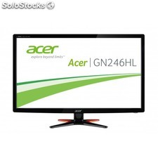 "Acer - G6 GN246HLB 24"""" Full hd tn+Film 3D Negro pantalla para pc"