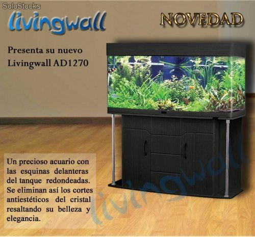 Acuarios panoramicos pecera panor mico livingwall for Acuarios baratos