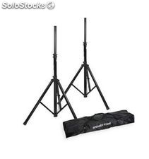 Adam hall SPS023SET pack soporte altavoces