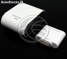 Adaptador AV compuesto inalámbrico para Apple iPad iPod iPhone 30pin (OC07)