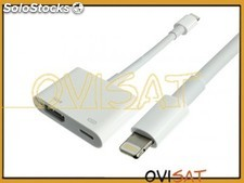 Adaptador AV digital, HDMI (MD826ZM/A) con conector lightning para iPhone 5, 5C,