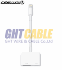 Adaptador cable hdmi para iphone 5/5s/6