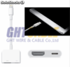 Adaptador cable hdmi para iphone 5/5s/6 - Foto 2