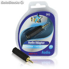 Adaptador De Audio 6.35mm Hembra - 3.5mm Macho Estéreo