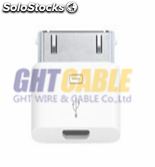 Adaptador micro usb a lightning para iphone iphone4 4s