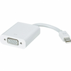Adaptador mini displayport a vga - mb572z/a