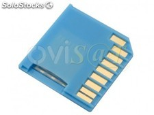 Adaptador mini-drive micro SD para SD, para Macbook Air / Pro, azul.