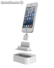 Adaptador Photofast de Apple dock a Lightning, blanco