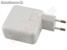 Adaptador USB 3.1 tipo C para Apple Macbook 12', branco, 29W