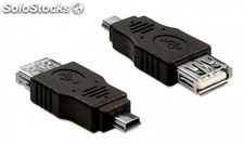 adaptador usb a mini usb h/m PEC03-5606