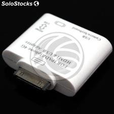 Adaptador USB datos y HDMi para Apple iPad iPod iPhone 30pin (OC05)