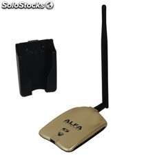 Adaptador USB Wifi alfa network awus051nh + u-mount-cs - ralink rt2770 rt2750-