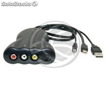 Adapter Mini DisplayPort to Composite Video and S-VHS (YP78)