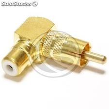 Adapter RCA Female to RCA Male high quality gold (AW51)