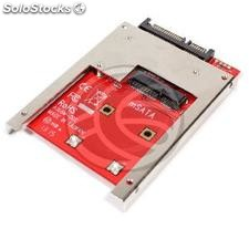 Adapter sata 2.5 hdd to mSATA miniSATA with fixing screws (MS12)