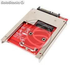 Adapter sata 2.5 hdd to mSATA miniSATA with stopper bracket (MS13)