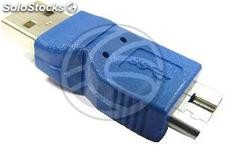Adapter usb 3.0 to usb 2.0 (Micro usb b Male to a Male) (UY31)