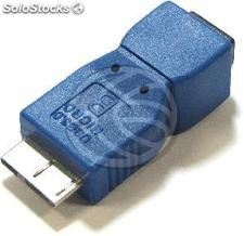 Adapter usb 3.0 to usb 2.0 (Micro usb b MicroUSB ab Male to Female) (UY67)