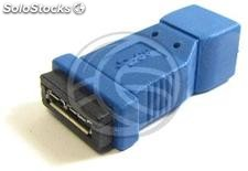 Adapter usb 3.0 to usb 2.0 (Micro usb MicroUSB ab ab Female to Female) (UY70)