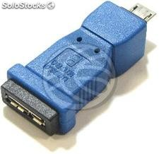 Adapter usb 3.0 to usb 2.0 (Micro usb MicroUSB b ab Female to Male) (UY68)