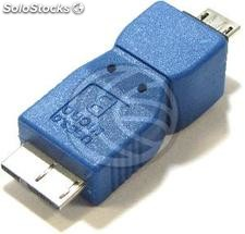 Adapter usb 3.0 to usb 2.0 (Micro usb MicroUSB b Male to b Male) (UY65)