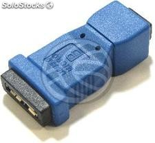 Adapter usb 3.0 to usb 2.0 (Micro usb to mini usb a Female ab Female) (UY64)