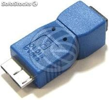Adapter usb 3.0 to usb 2.0 (Micro usb to mini usb a Male b Female) (UY54)