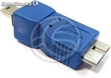 Adapter usb 3.0 to usb 2.0 (Micro usb to mini usb b b Macho Macho) (UY51)