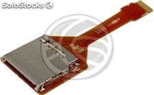 Adaptor Card sd/sdio to MicroSD/TransFlash (Flexible Cable) (SL39)