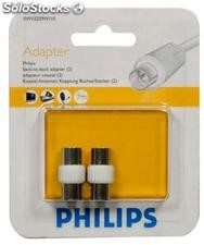 Adattatore per spina tv Philips conf. 2 Pz
