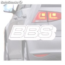 Adesivo Per Auto Bbs Bianco - Wrapworkers Series