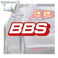 Adesivo Per Auto Bbs Rosso - Wrapworkers Series