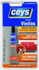 Adhesivo Reparador Plasticos Flexibles 15ml.Vinilceys 501011