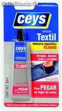 Adhesivo Tejidos 30 Ml. 501024 Textilceys