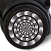 Adhesivos Roller Wheel Sticker Hypnotic
