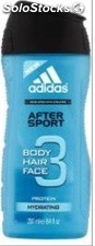 Adidas After Sport Gel 250Ml. Hidrating